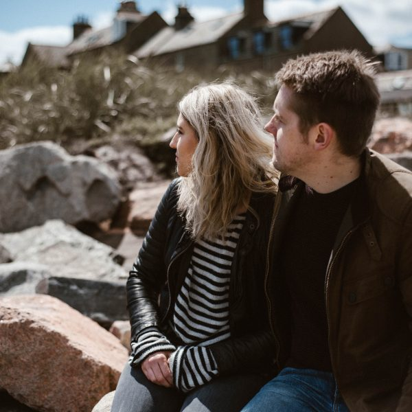 Footdee Aberdeen Engagement Session