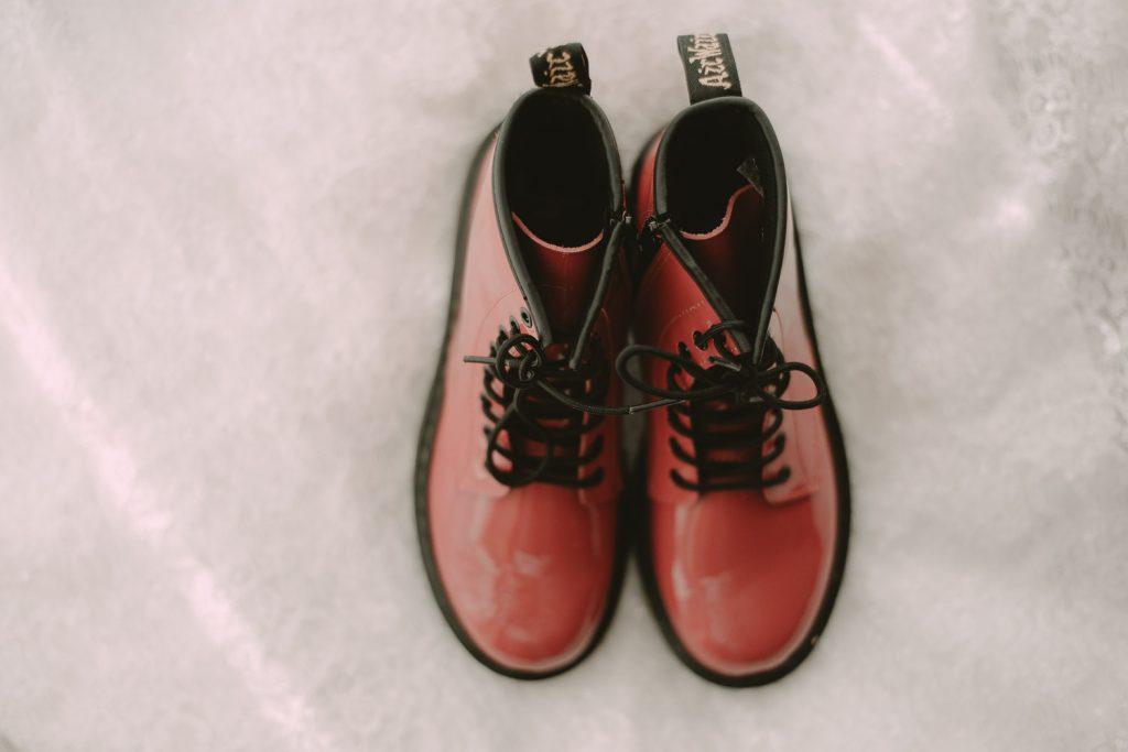 dr martens wedding boots