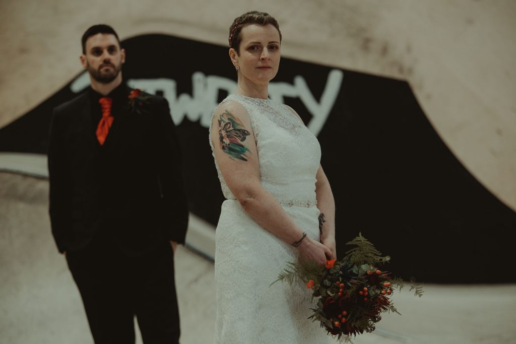 photo of the married couple