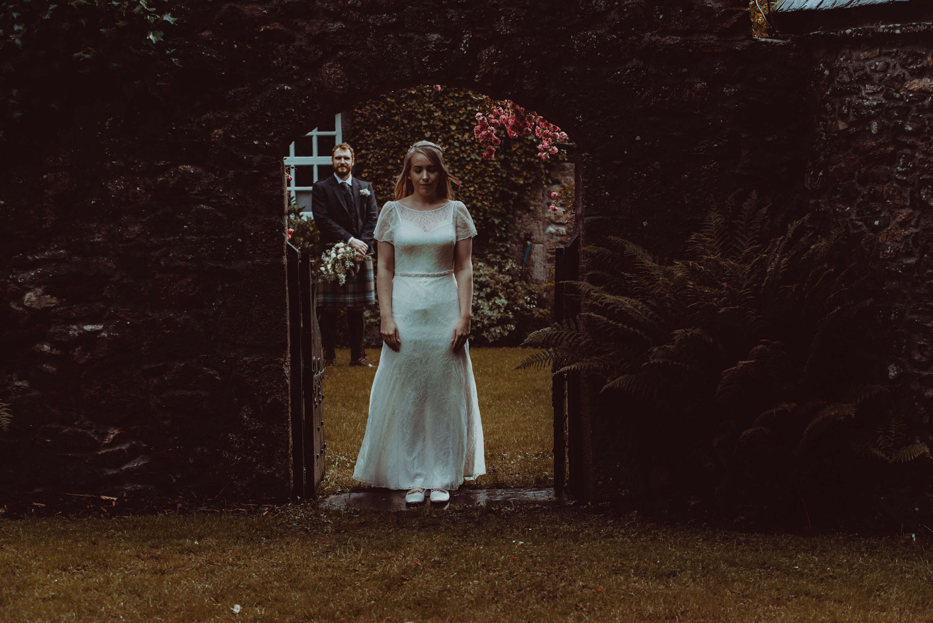 Schivas House Wedding - Couple Portrait