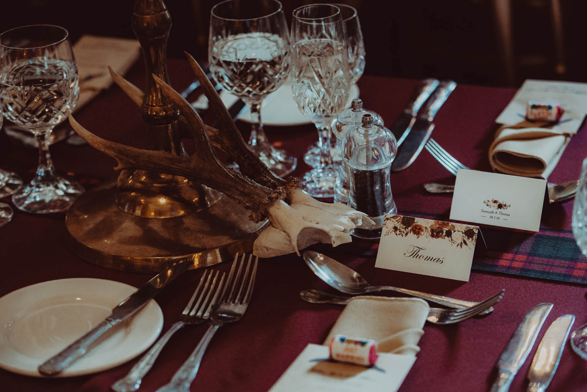 Schivas House Wedding Table