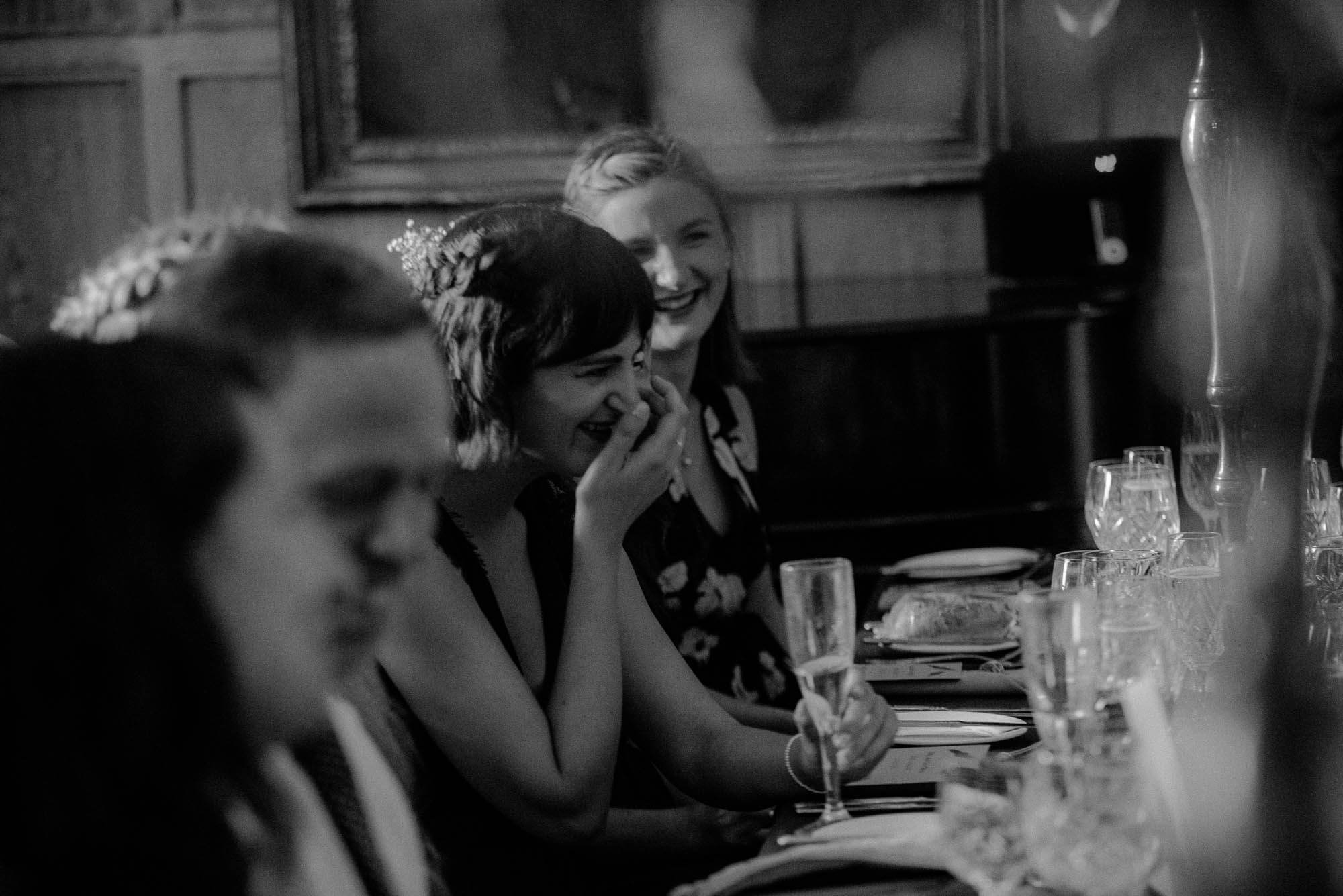Schivas House - Laughing Bridesmaid