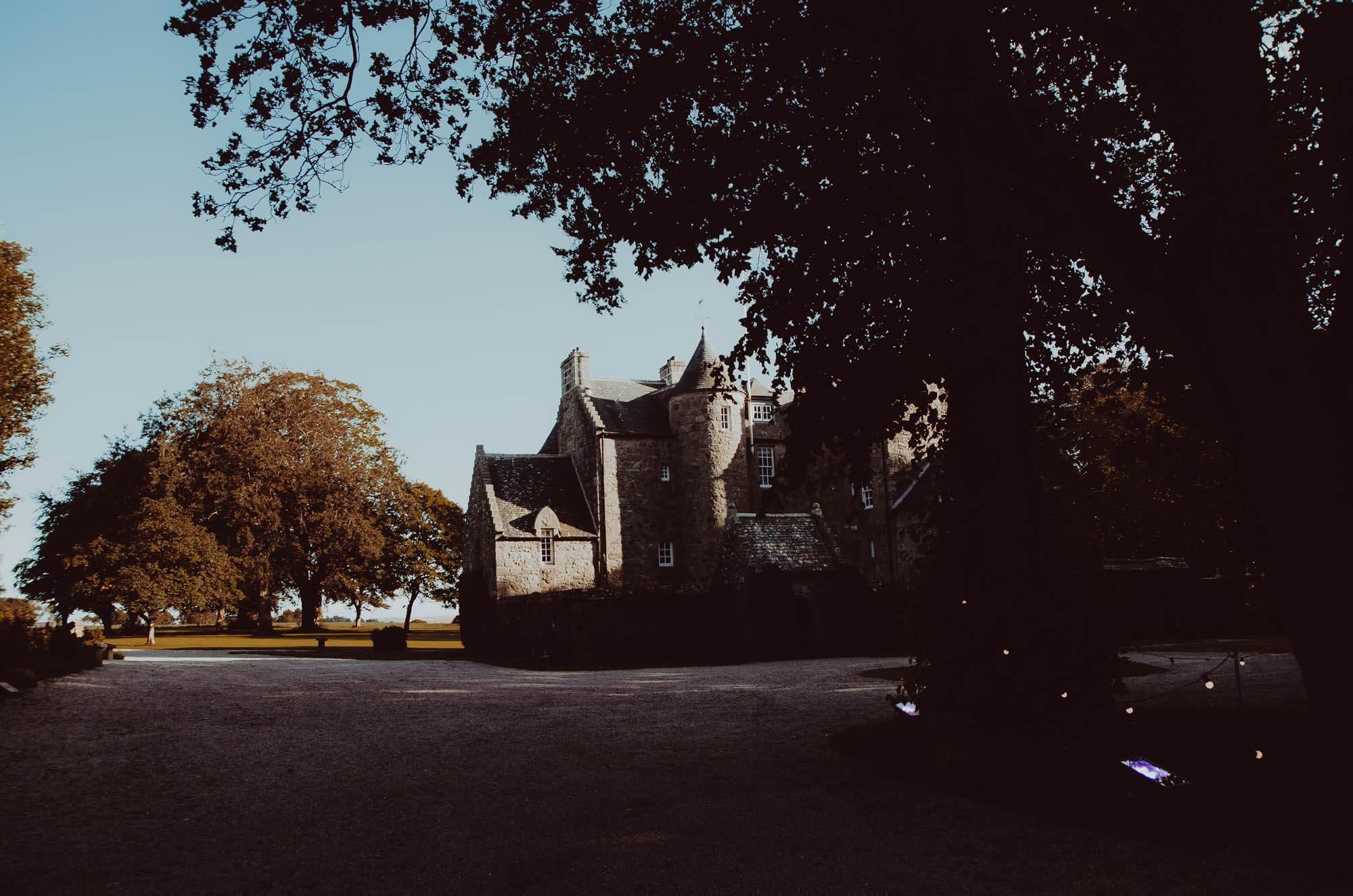 Schivas House on a wedding day