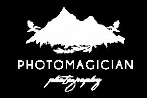photomagician logo white