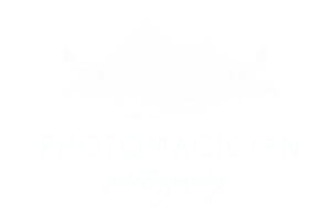 photomagician logo white