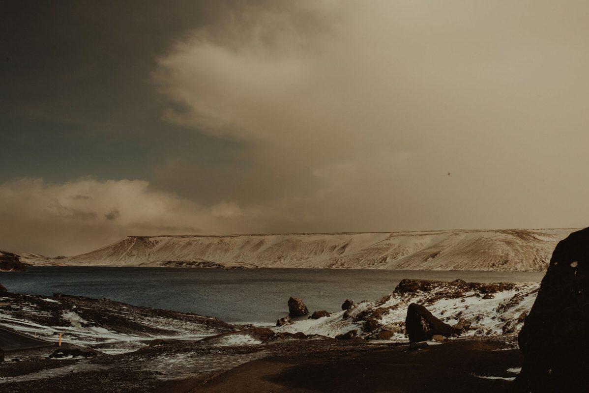 Iceland elopement landscape