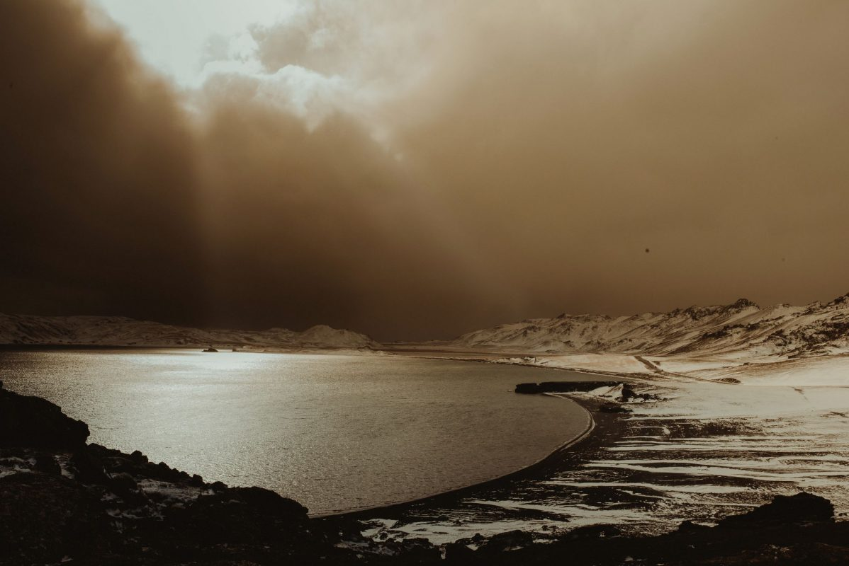 Iceland wedding landscape