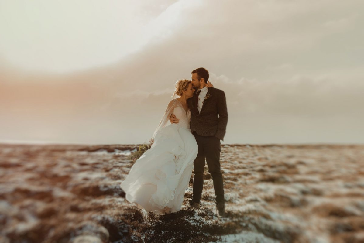 Married couple in Iceland - Freelens