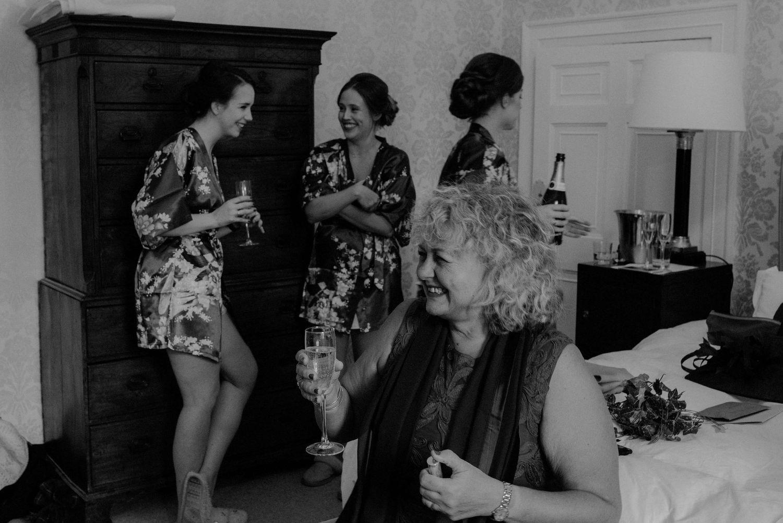 Bridesmaids at Elsick House Wedding