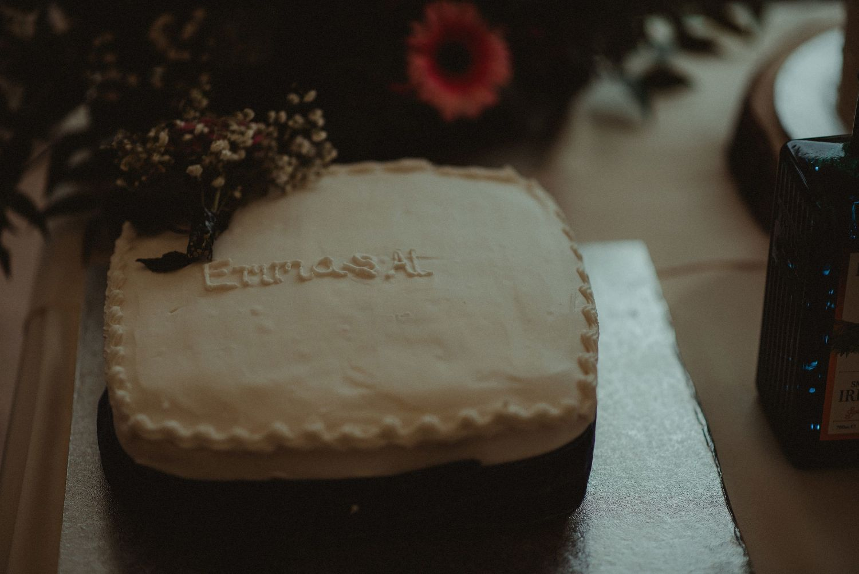 Wedding cake at Elsick House