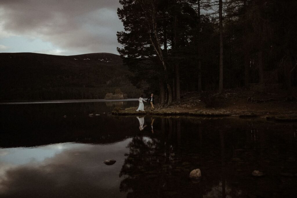 Loch an Eilein Elopement Photographer